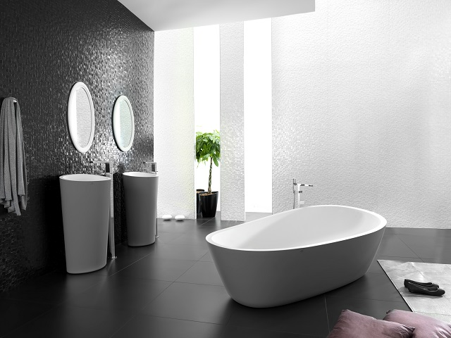 baÑeras de krion®: bienestar para los sentidos. Solid Surface para equipamiento baño