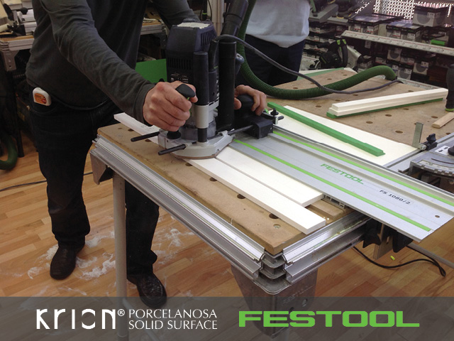 Foto Festool-KRION