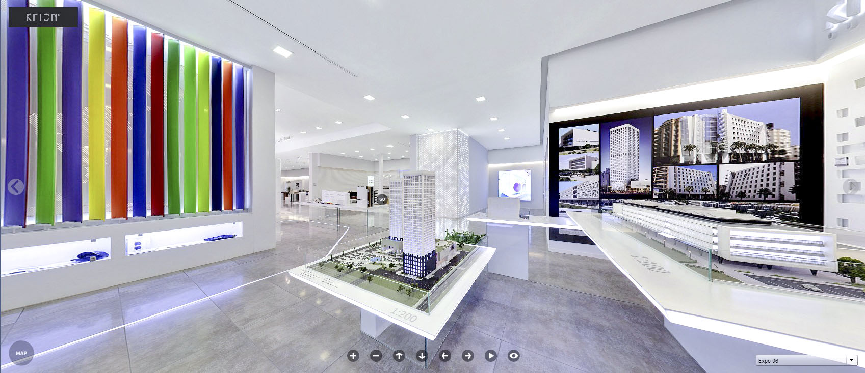 The Virtual Tour of the 2014 KRION® Showroom is now available