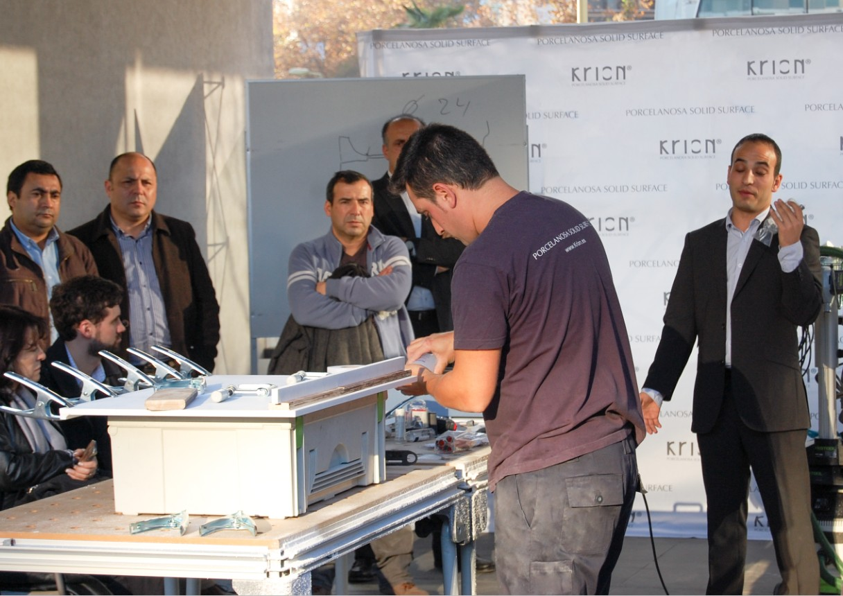 Theoretical- practical training –KRION® in Chile