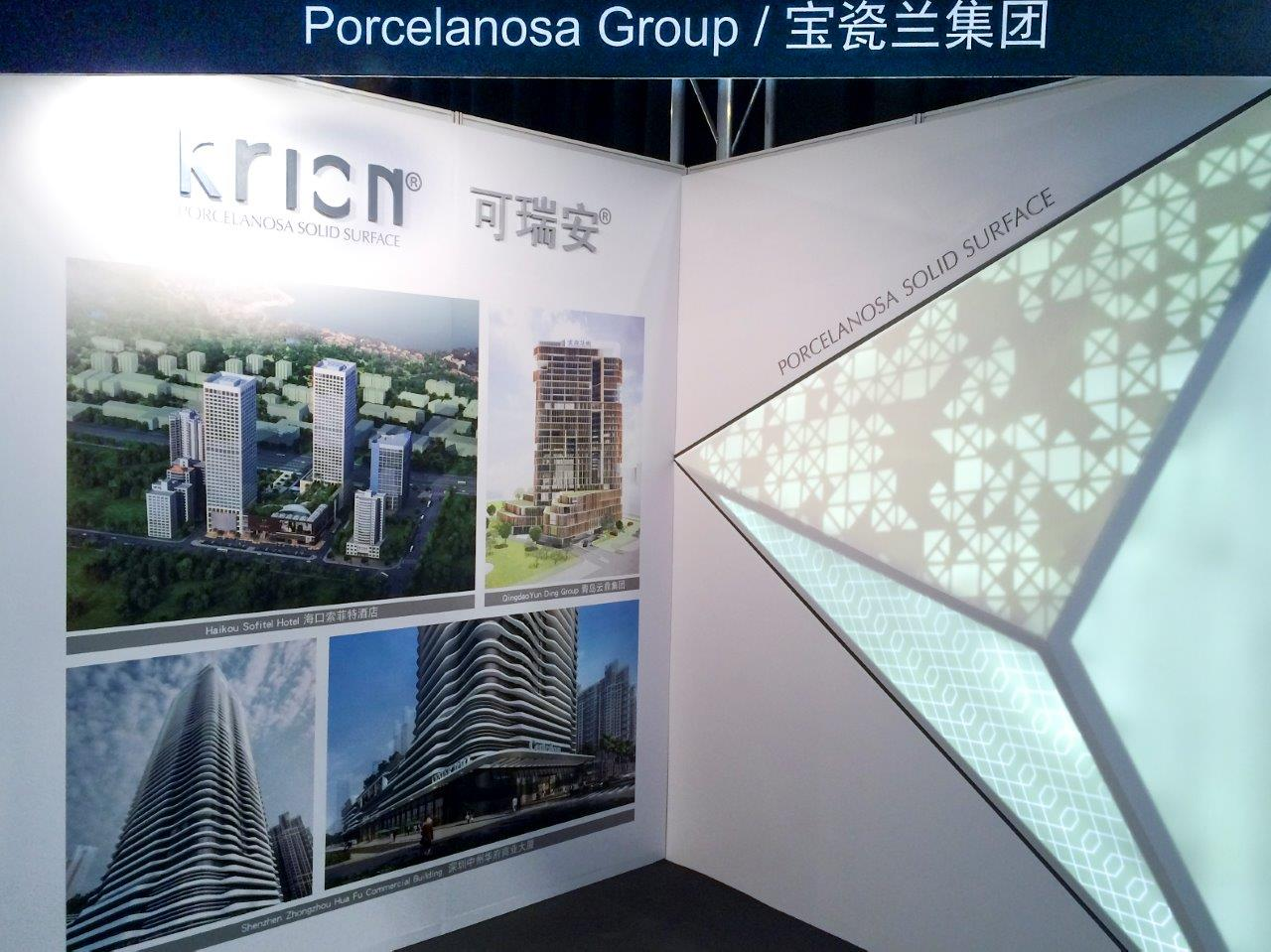 KRION® presented at architect@work in Shanghai
