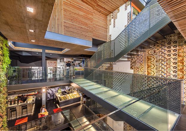 The new Mercado de San Agustin market, Toledo, relies upon KRION®