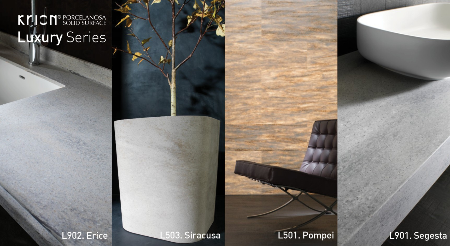 KRION® LUXURY CERSAIE 2014 NEWS