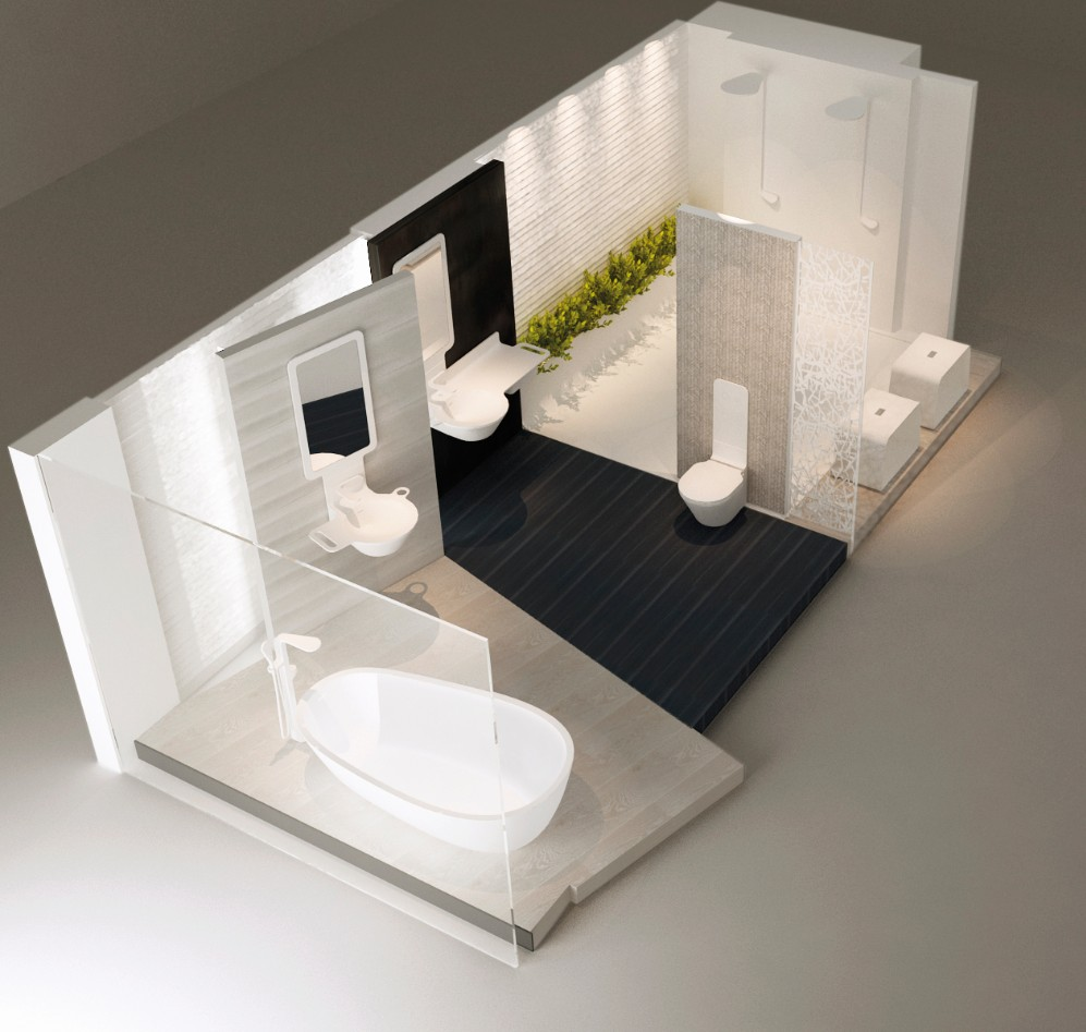 KRION® present in the PORCELANOSA Valencia Showroom (Calle