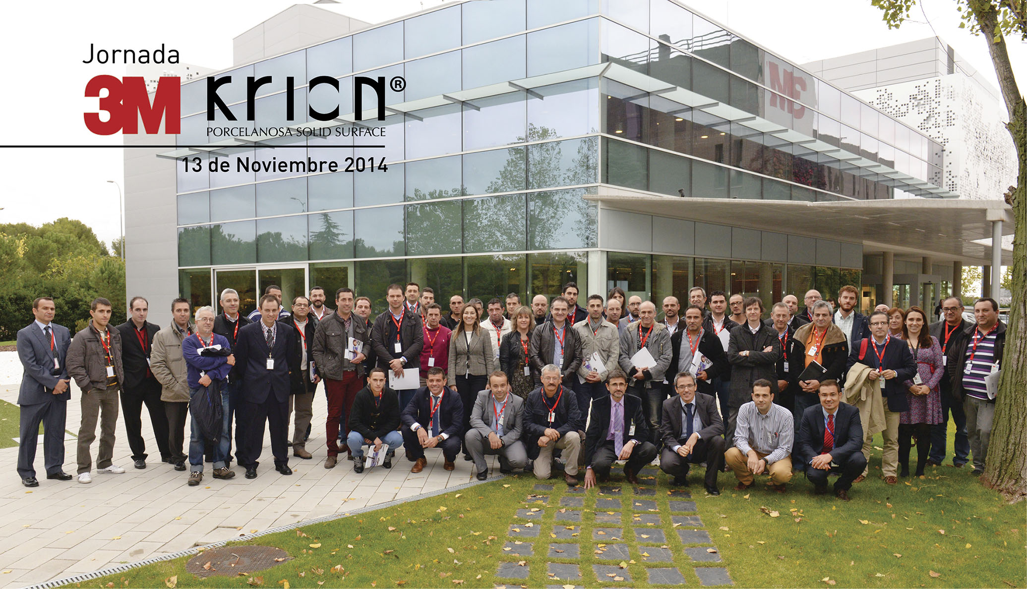3M Conference & KRION® PORCELANOSA Solid Surface