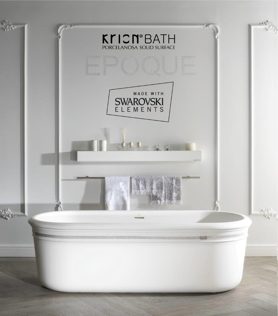 KRION® Bath – EPOQUE made with SWAROVSKI ELEMENTS