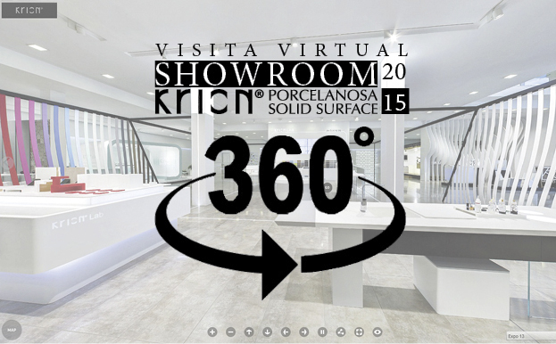 Ya podemos disfrutar de la visita virtual KRION® SHOWROOM 2015