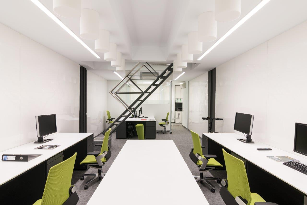 KRION® in the full renovation of the Ortiz Leon Arquitectos offices