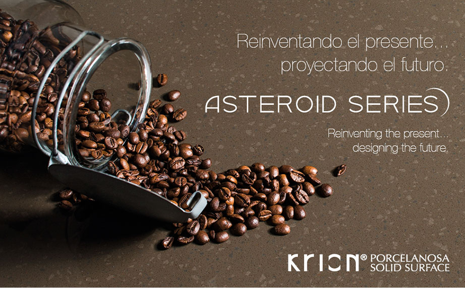 Reinventing the present, planning the future: New KRION® ASTEROID Series