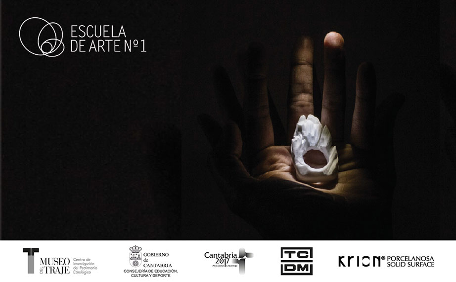 the escuela de arte nº1 de cantabria art school selects krion® for presenting its work in the museo del traje clothing museum of madrid. Solid Surface 的 产品