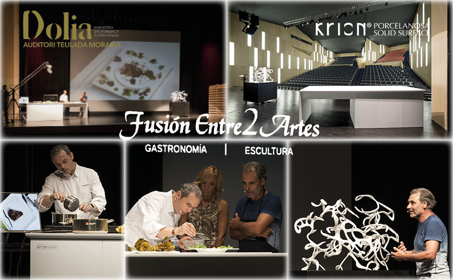 Manuel Alonso and Quico Torres combine their arts using KRION® Solid Surface