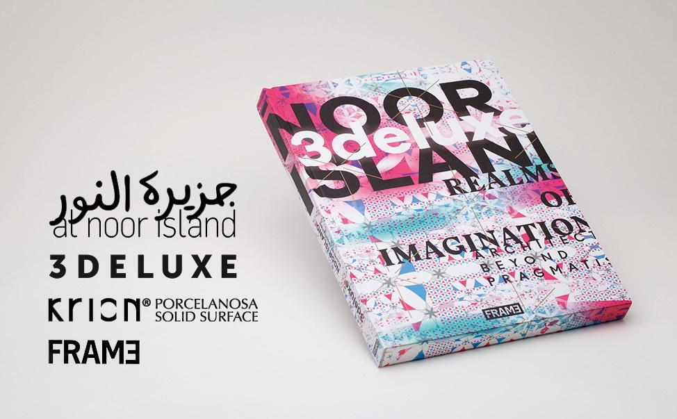 KRION® tient le premier rôle dans le nouveau livre de « Noor Island – Realms of Imagination » - Solis Surface