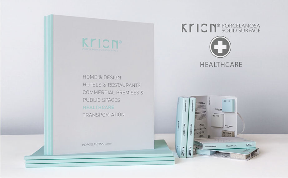 "Catalogo KRION® ""HEALTHCARE – SANITÀ"" - Solid Surface"