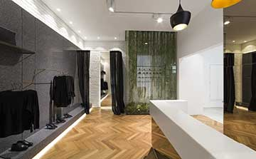 PORCELANOSA Group 24th International Exhibition - KRION® SHOWROOM / Paediatrics – Retail