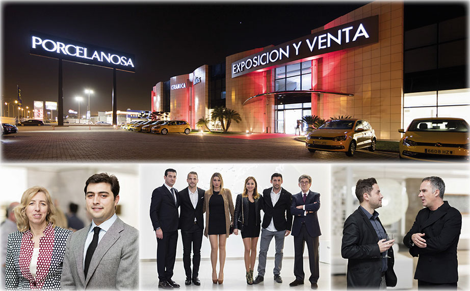 Reopening of the PORCELANOSA Albuixech (Valencia) Showroom