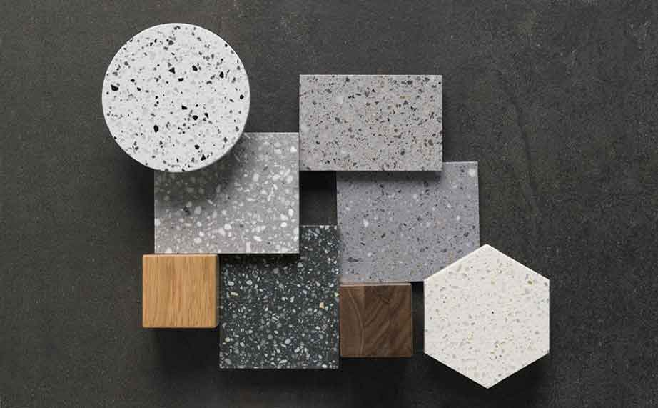 Novità di KRION®: TERRAZZOS Series - Solid Surface