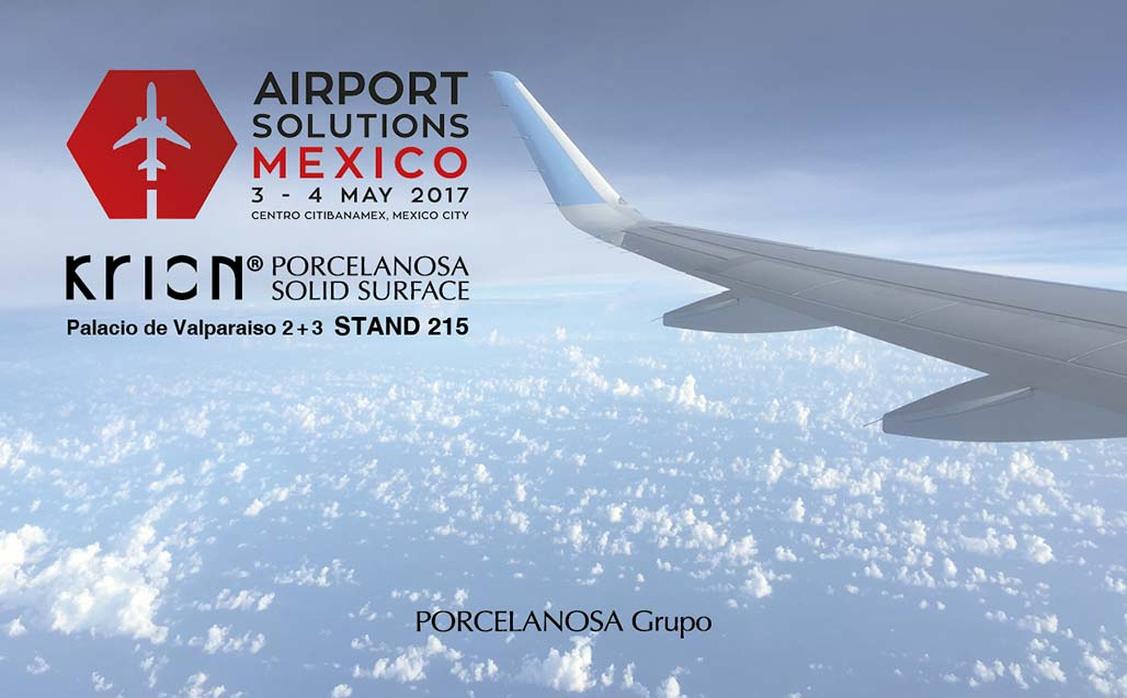 KRION® presente en Airport Soluctions Mexico - Solid Surface