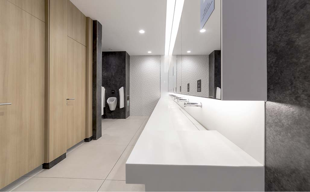 Klepierre and Chapman Taylor plan the communal areas of the Plenilunio Shopping Centre with KRION Solid Surface