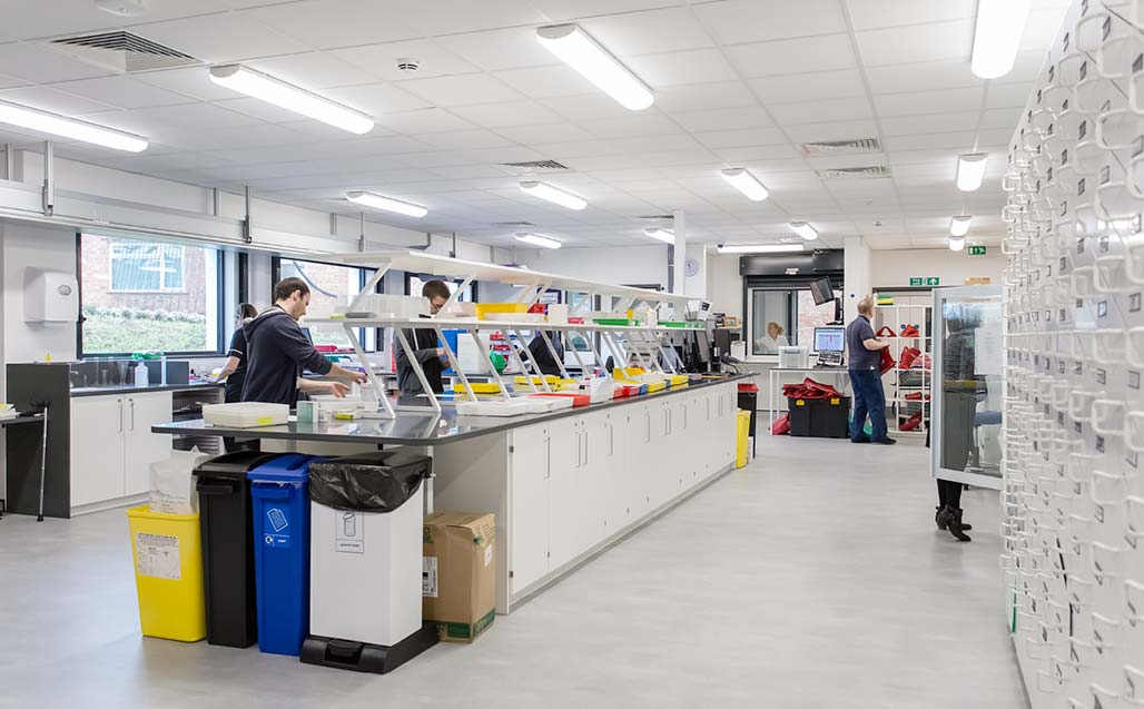 KRION in the new Forbes Fraser Pharmacy, at the cutting-edge of hospital therapies