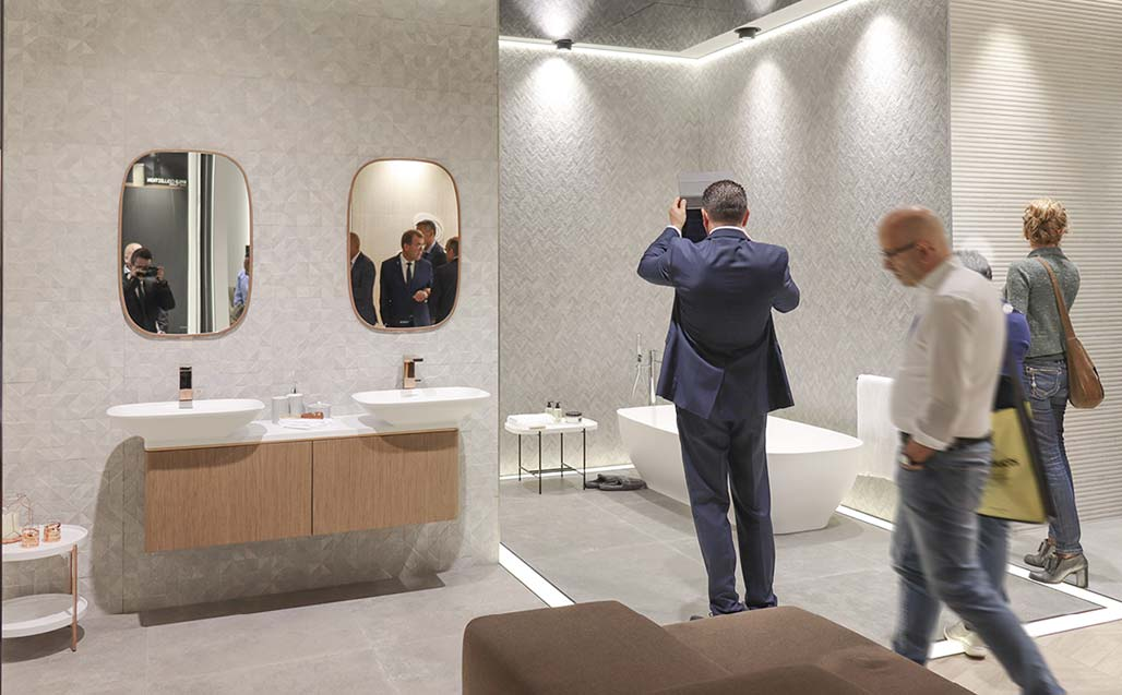 CERSAIE 2017 – Great reception for the new KRION BATH products - Solid Surface