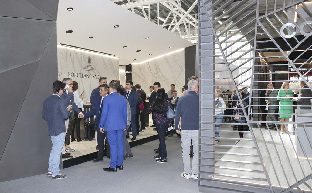 CERSAIE 2017 brings down the curtain after a great week for the PORCELANOSA Group - Solid Surface