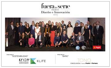 "The ""Fuera de Serie"" magazine awards KRION twice, for K-LIFE and the TONO Series"