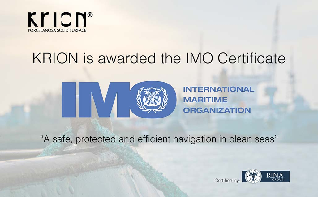 KRION successfully passes the rigorous testing for IMO Certification (International Maritime Organization)