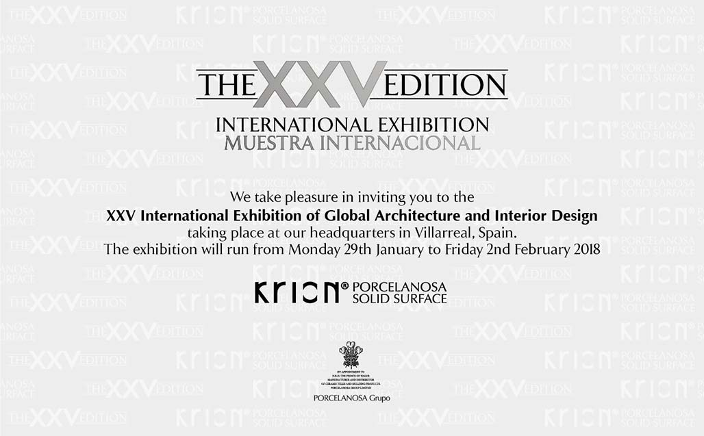 Futuristic design arrives with the 25th International Global Architecture & Interior Design Exhibition - Solid Surface