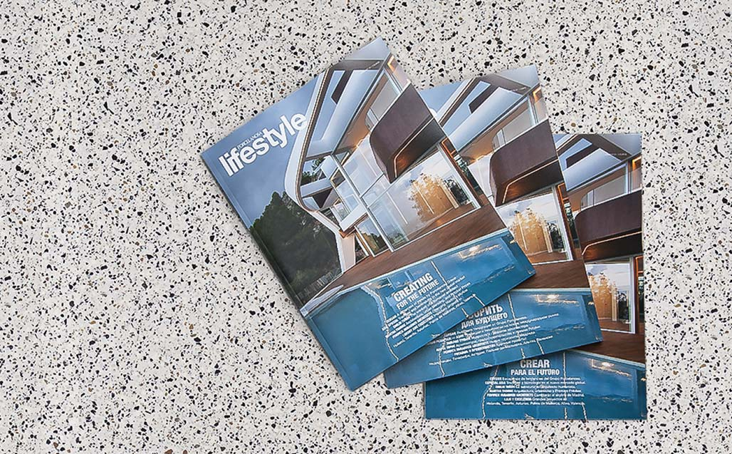 New issue of the Lifestyle magazine – Goodbye 2017, Hello 2018 trends!!! KRION Solid Surface