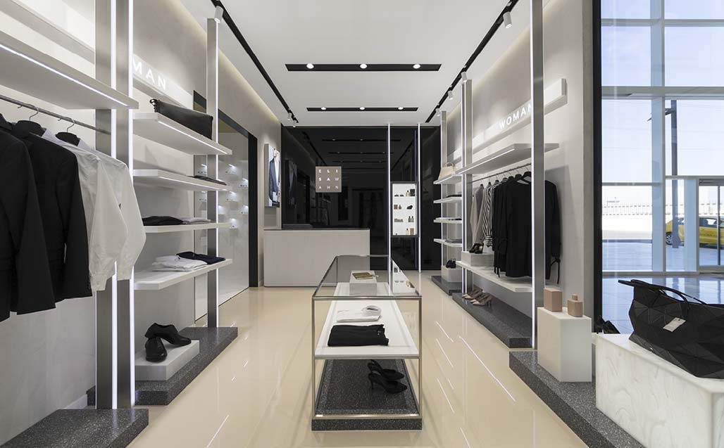 XXVe salon international du groupe PORCELANOSA - KRION SHOWROOM / Boutique - Clinique