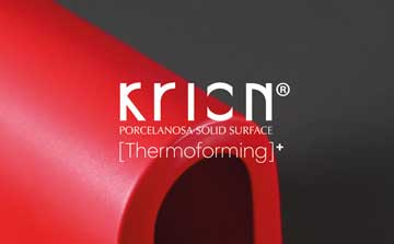 KRION, Extreme thermoforming – Endless possibilities