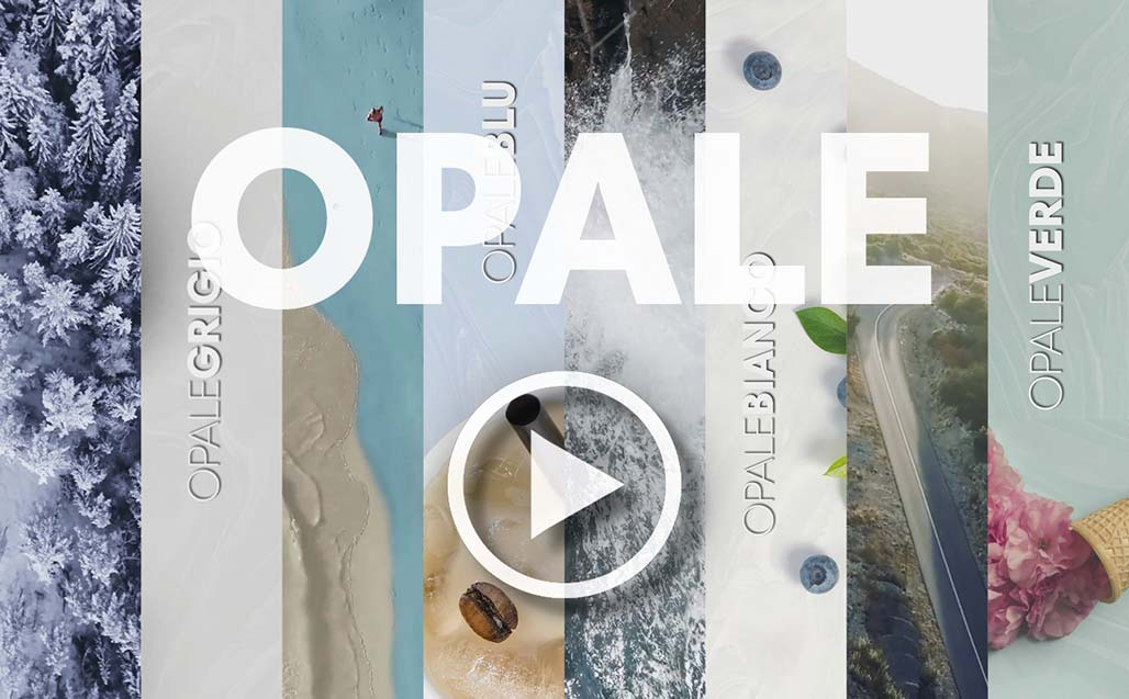 Video with the sensations awakened by the new OPALE Series - KRION Solid Surface