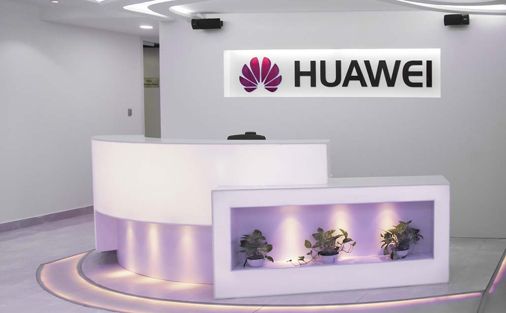 nupami introduce krion en huawei exhibition center, dhaka – bangladesh. Solid Surface  locales comerciales y empresas