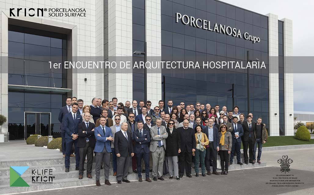 1st Hospital Architecture Conference with KRION K-LIFE Solid Surface as the star material