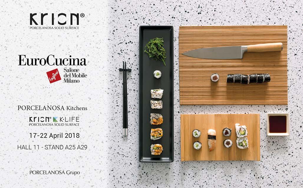 KRION presente en EuroCucina, tendencias y novedades del sector de la cocina