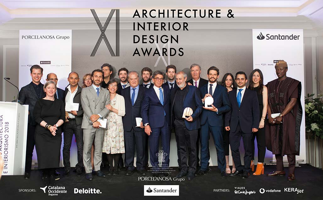 We find out who the winners were at the 11th Porcelanosa Awards - KRION Solid Surface