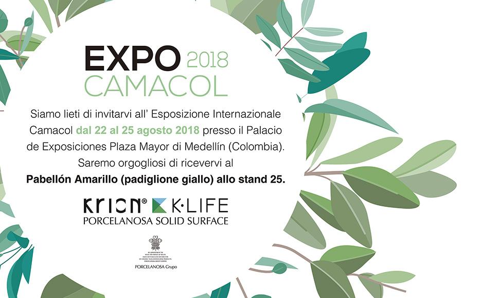 EXPOCAMACOL, la Fiera Internazionale di Edilizia, Architettura e Design - Solid Surface