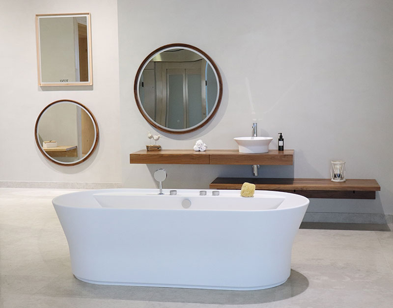 The 26th International Exhibition: design and practicality with KRION™ BATH