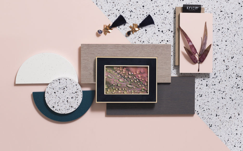 Krion™: the TRENDS COLORS design made for experimenting with