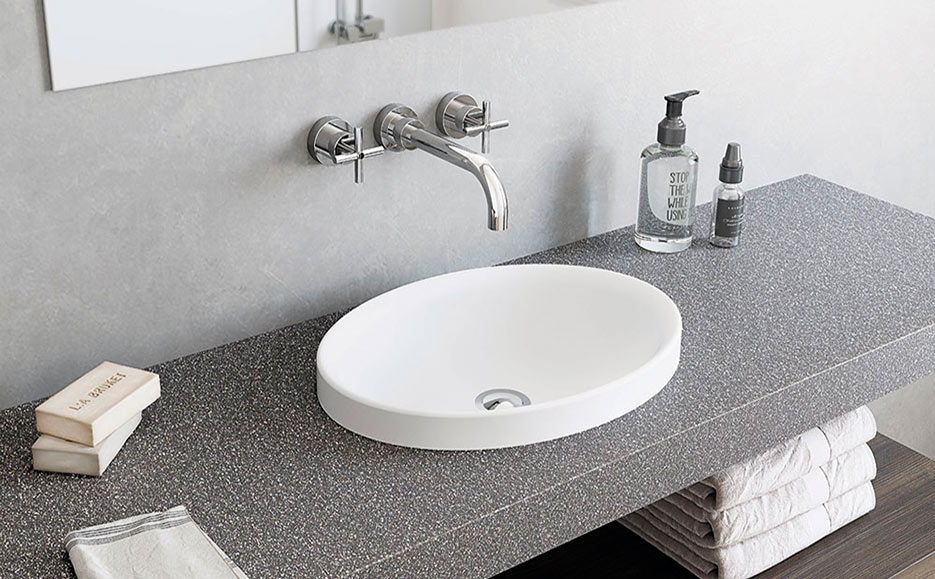 Krion Shell™, resistance and sustainability in bathroom equipment