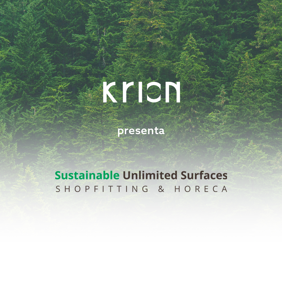 Presentamos Krion Sustainable Unlimited Surfaces, la línea más eco de Krion