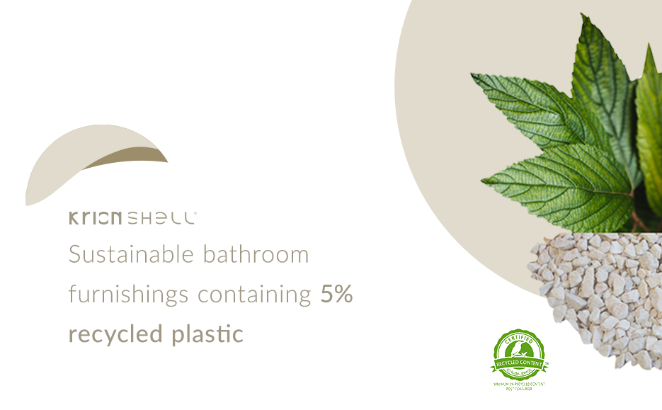 Krion Shell®: a safe, revolutionary material in bathroom design