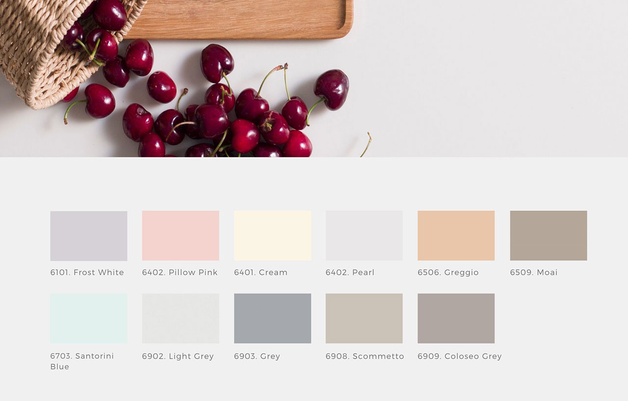 Krion™ Colors, a universe of colours for your solid surface