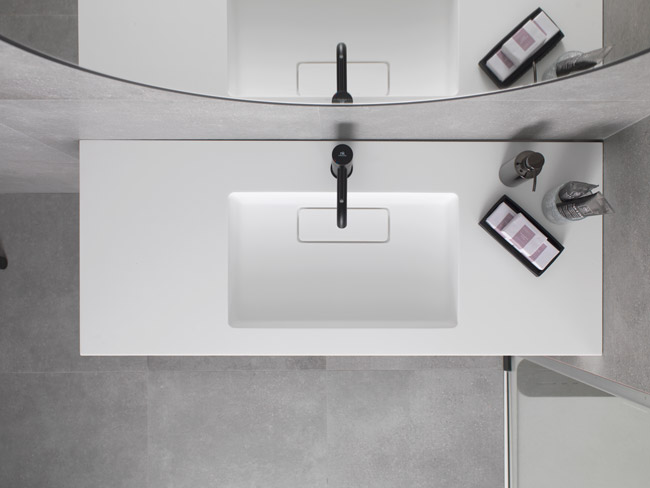krion™, semi-finished products for bathrooms and kitchens. Solid Surface  餐饮设施