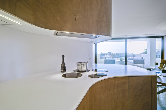 how krion™ can help you in the kitchen. Solid Surface for homes