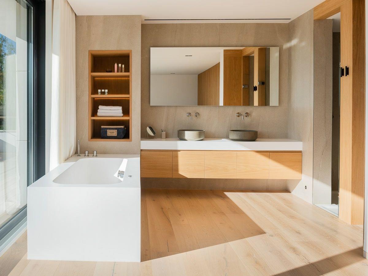 cuarto de baño krion solid surface