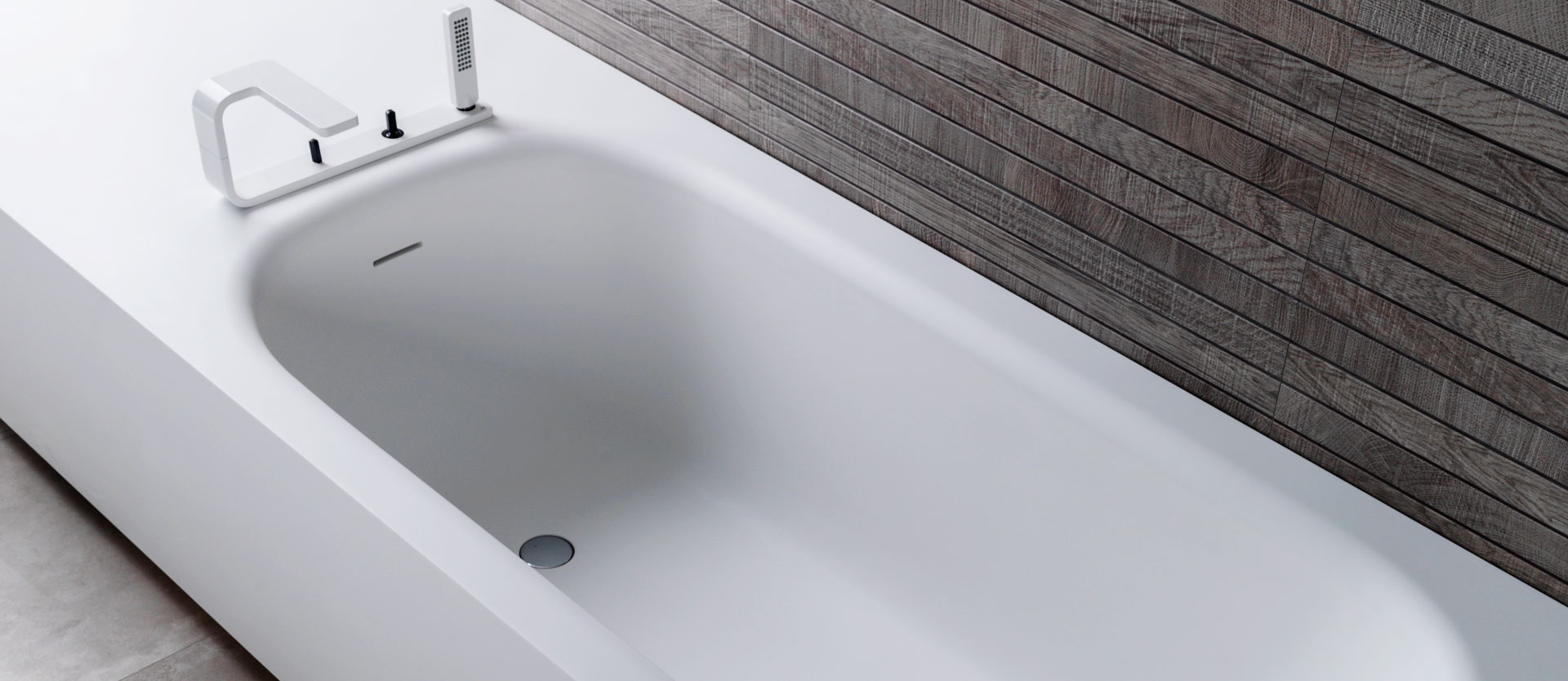 base vasca da bagno solid surface