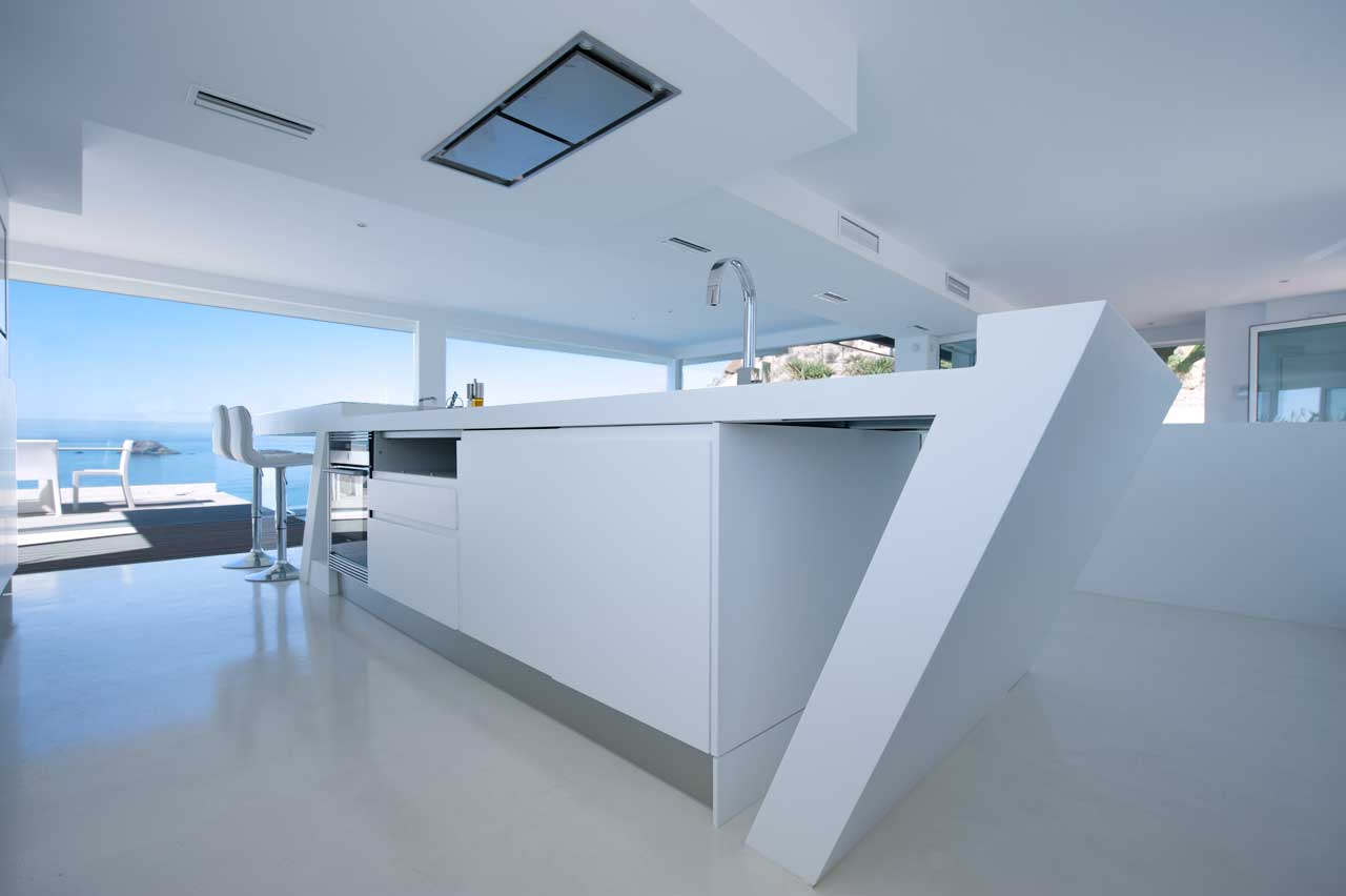 home muher -  murcia - spain. Solid Surface for mieszkania