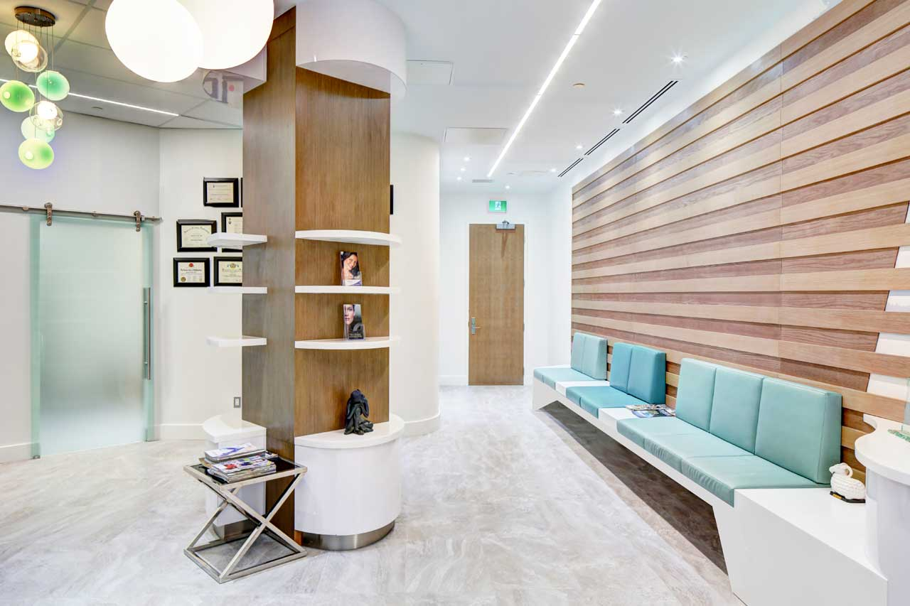 eye face surgical institute - toronto - canadá. Solid Surface  sanidad