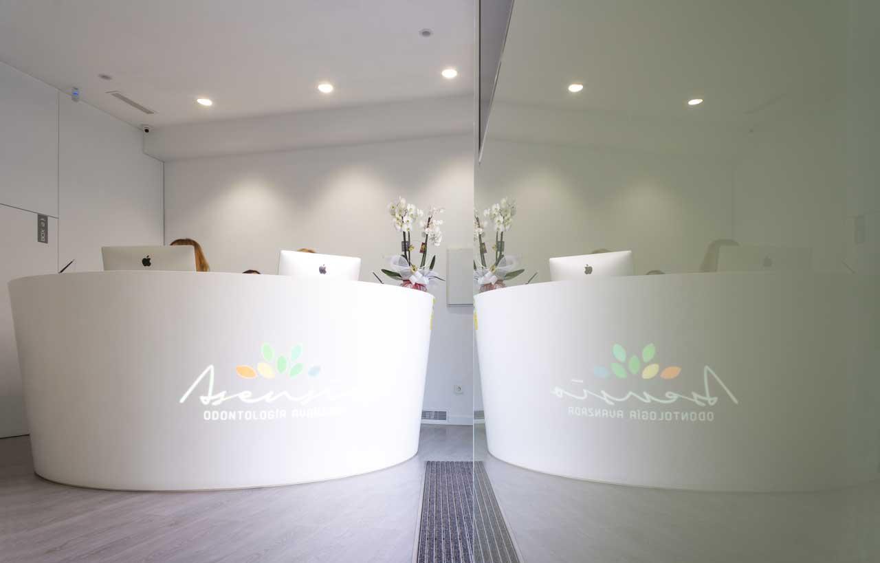 clínica dental asensio - valencia - españa. Solid Surface  sanidad